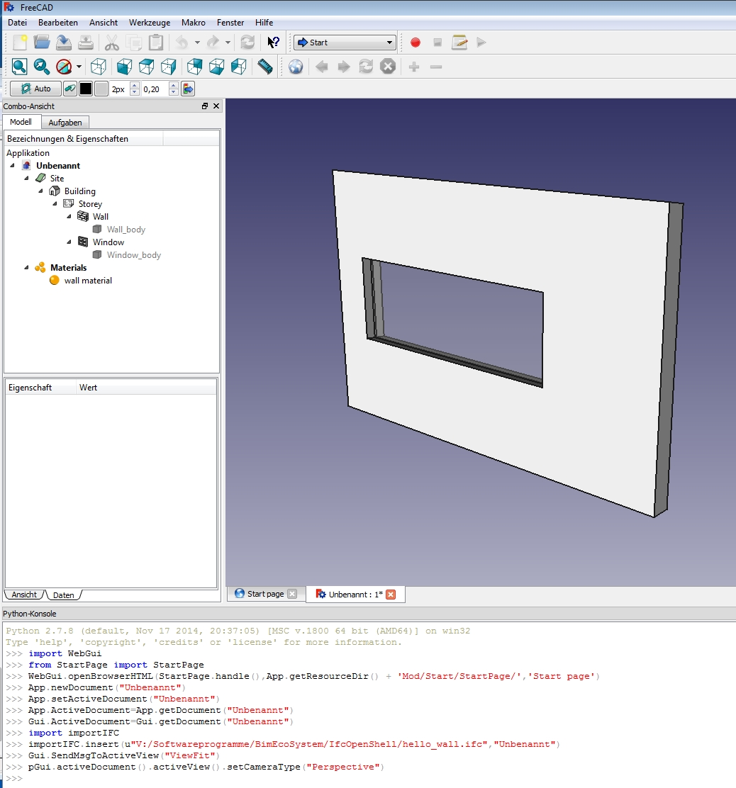 FreeCAD_helloWall_screenshot.jpg