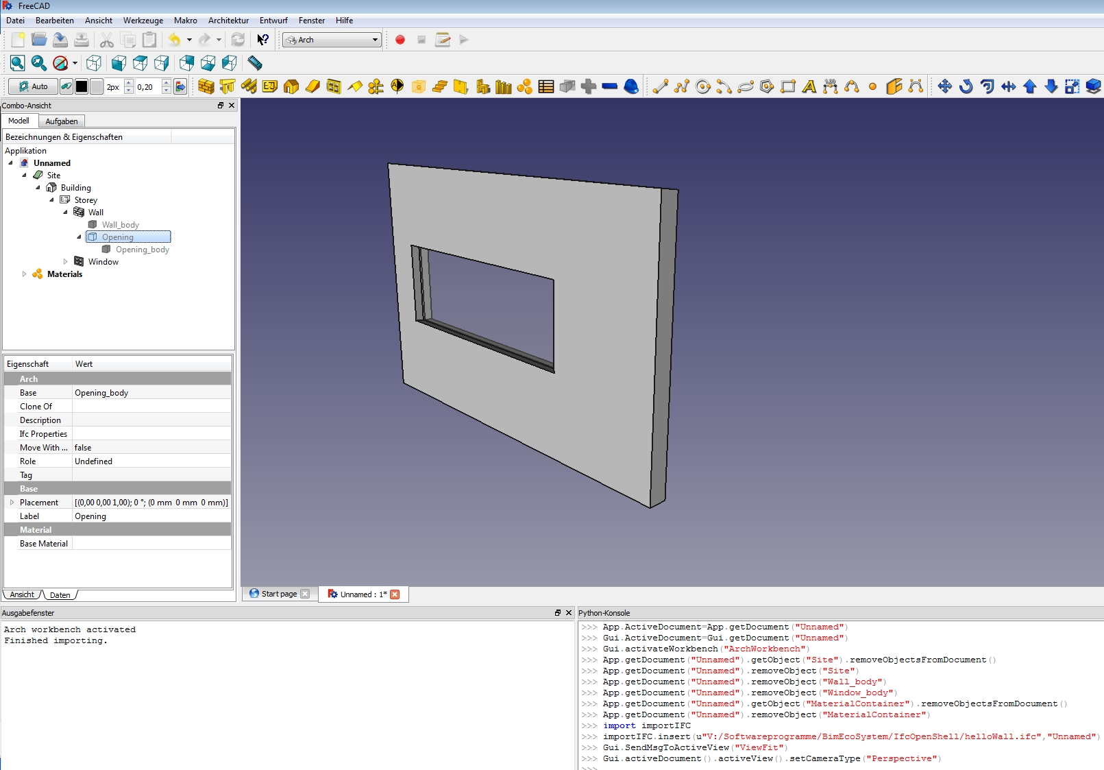 FreeCAD_helloWall_screenshot_2.jpg
