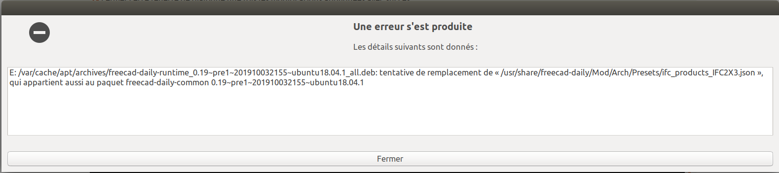 erreur dans synaptic mise à jour freecaddaily runtime 1.png